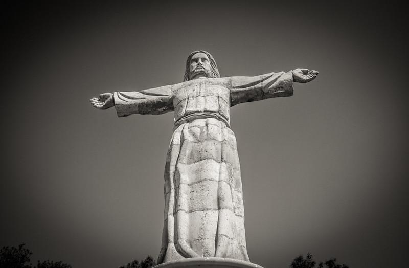 Cristo statue in Taxco