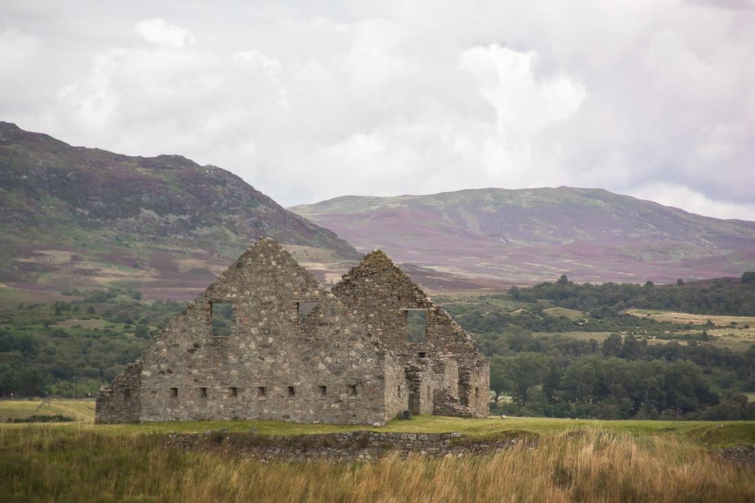 Ruthven Barracks - Badenoch, Scotland